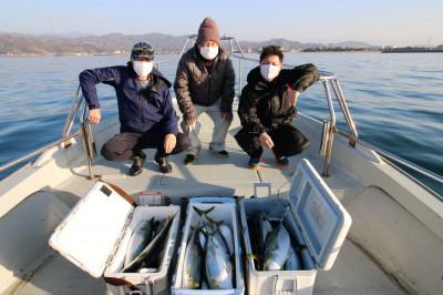 西岡遊漁の2021年1月14日(木)5枚目の写真