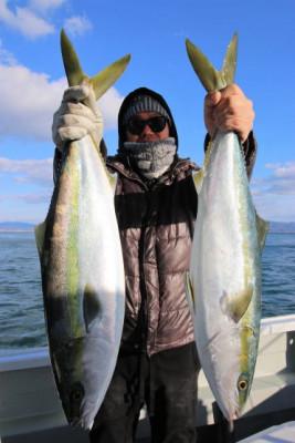 西岡遊漁の2021年1月17日(日)3枚目の写真