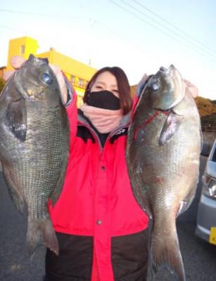 丸銀釣りセンターの2021年1月20日(水)1枚目の写真
