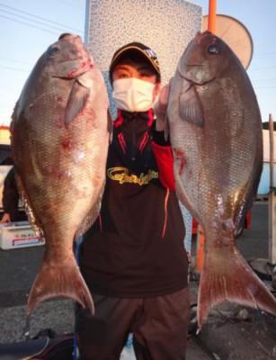 丸銀釣りセンターの2021年1月20日(水)2枚目の写真