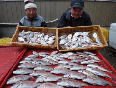 奥村釣船の2021年1月27日(水)1枚目の写真