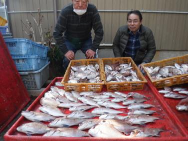 奥村釣船の2021年1月27日(水)4枚目の写真