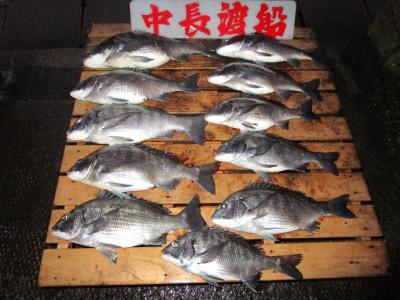 中長渡船の2021年1月28日(木)1枚目の写真