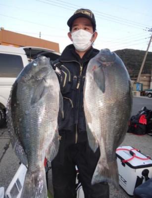 丸銀釣りセンターの2021年1月27日(水)1枚目の写真