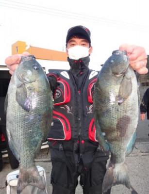 丸銀釣りセンターの2021年1月27日(水)3枚目の写真
