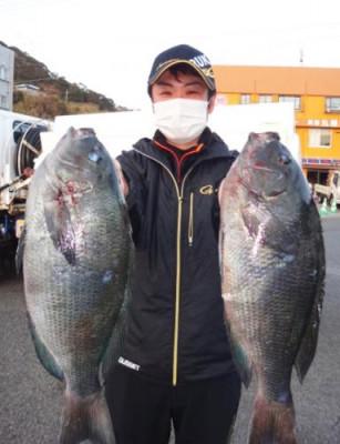 丸銀釣りセンターの2021年1月27日(水)4枚目の写真