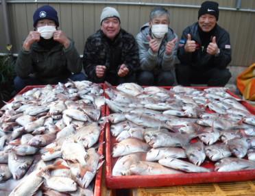 奥村釣船の2021年1月29日(金)1枚目の写真