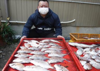 奥村釣船の2021年1月29日(金)3枚目の写真