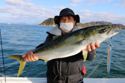 西岡遊漁の2021年1月27日(水)2枚目の写真