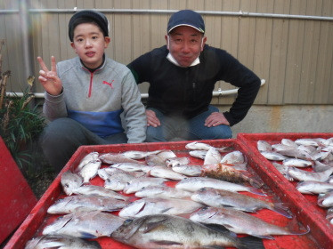 奥村釣船の2021年1月30日(土)2枚目の写真