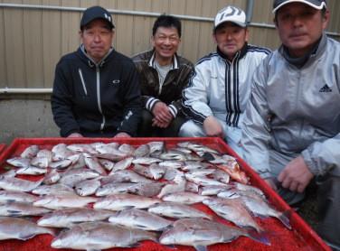 奥村釣船の2021年1月30日(土)3枚目の写真