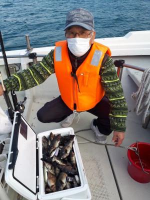 釣り船くわだの2021年1月30日(土)1枚目の写真