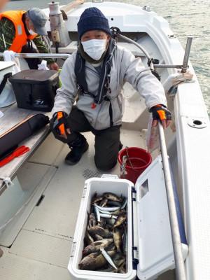 釣り船くわだの2021年1月30日(土)2枚目の写真