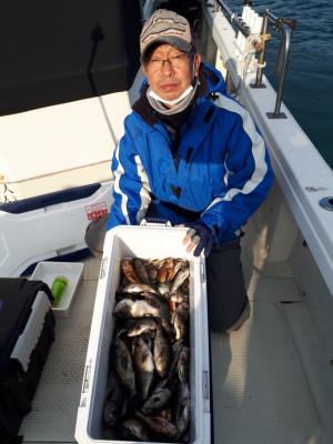釣り船くわだの2021年1月30日(土)3枚目の写真