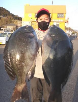 丸銀釣りセンターの2021年1月30日(土)4枚目の写真