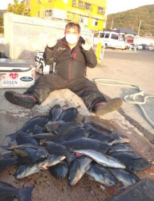 丸銀釣りセンターの2021年1月30日(土)5枚目の写真