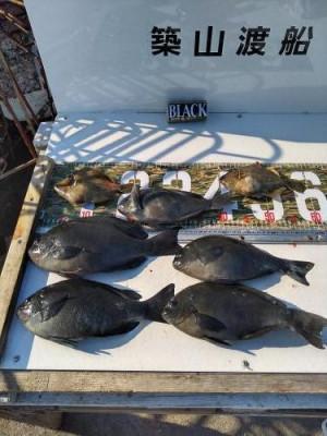 築山渡船の2021年1月31日(日)5枚目の写真
