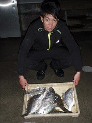 村櫛フィッシング沖の2021年1月31日(日)1枚目の写真
