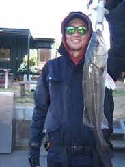 村櫛フィッシング沖の2021年1月31日(日)2枚目の写真