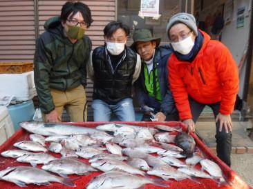 奥村釣船の2021年1月31日(日)1枚目の写真