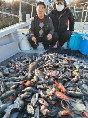 まこと遊漁の2021年2月3日(水)4枚目の写真