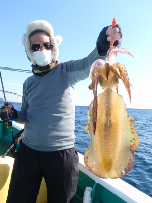 釣り船 久勝丸の2021年1月31日(日)1枚目の写真