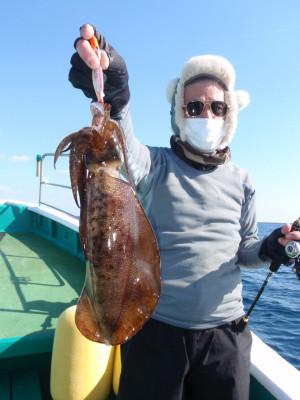 釣り船 久勝丸の2021年1月31日(日)2枚目の写真