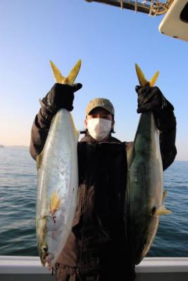 西岡遊漁の2021年1月31日(日)3枚目の写真