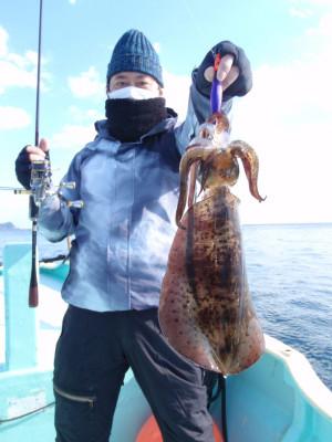 釣り船 久勝丸の2021年2月4日(木)1枚目の写真