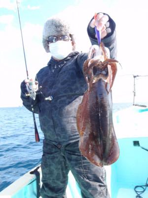 釣り船 久勝丸の2021年2月4日(木)2枚目の写真