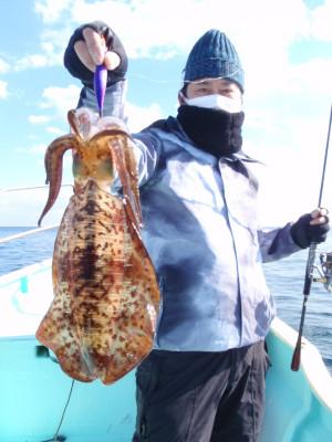 釣り船 久勝丸の2021年2月4日(木)3枚目の写真