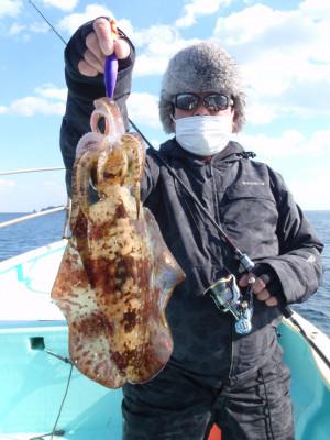 釣り船 久勝丸の2021年2月4日(木)4枚目の写真