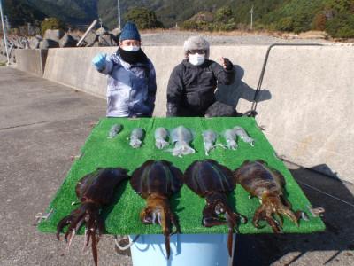 釣り船 久勝丸の2021年2月4日(木)5枚目の写真