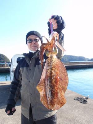 釣り船 久勝丸の2021年2月5日(金)1枚目の写真