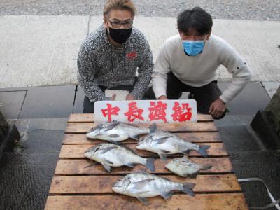 中長渡船の2021年2月6日(土)1枚目の写真