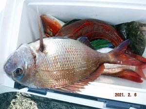 第一大漁丸の2021年2月6日(土)1枚目の写真