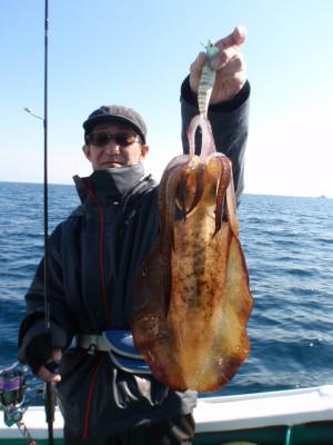 釣り船 久勝丸の2021年2月6日(土)3枚目の写真