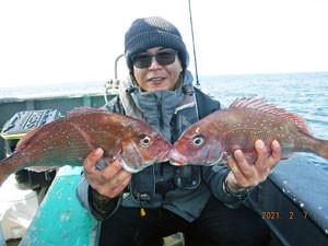 第一大漁丸の2021年2月7日(日)2枚目の写真