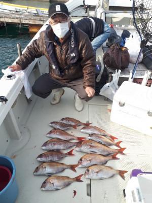 釣り船くわだの2021年2月5日(金)2枚目の写真