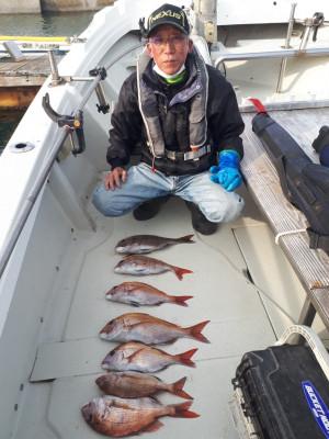 釣り船くわだの2021年2月5日(金)3枚目の写真