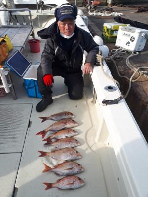 釣り船くわだの2021年2月5日(金)4枚目の写真