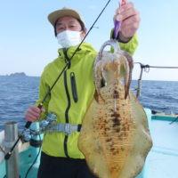 釣り船 久勝丸の2021年2月7日(日)2枚目の写真