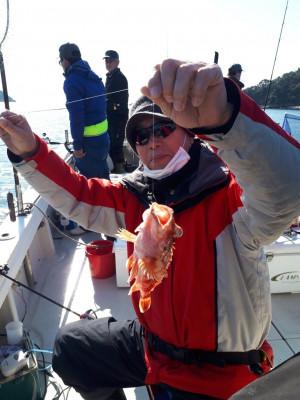 釣り船くわだの2021年2月6日(土)1枚目の写真