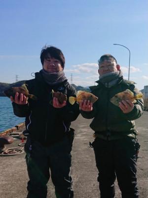 フィッシングボート 清和丸の2021年2月9日(火)5枚目の写真