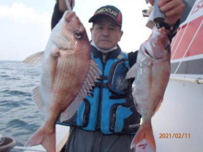 秀吉丸の2021年2月11日(木)3枚目の写真