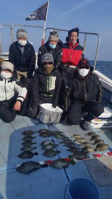 フィッシングボート 清和丸の2021年2月11日(木)4枚目の写真