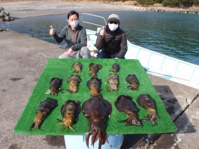 釣り船 久勝丸の2021年2月11日(木)1枚目の写真