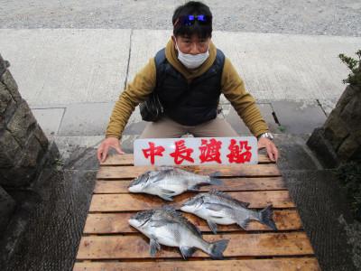 中長渡船の2021年2月12日(金)1枚目の写真