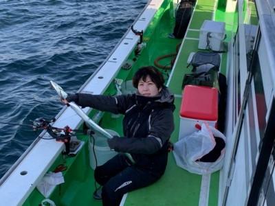 三喜丸釣船店の2021年2月13日(土)3枚目の写真