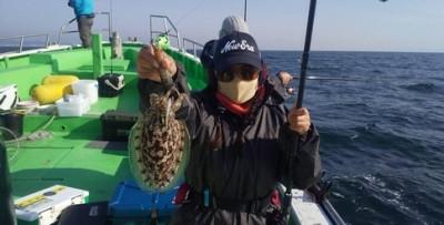 三喜丸釣船店の2021年2月13日(土)4枚目の写真